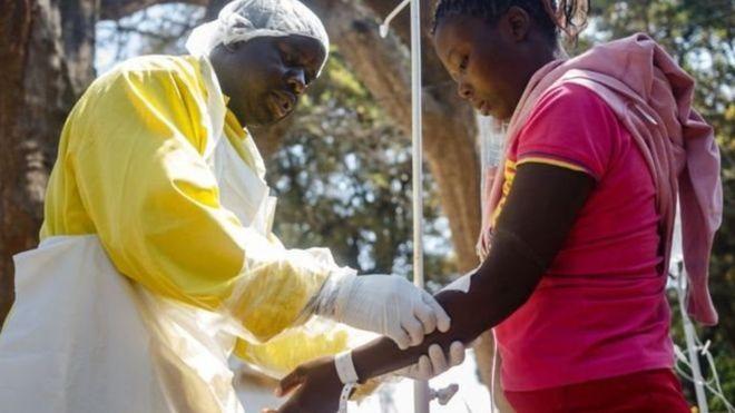 Une campagne de collecte de fonds contre le choléra au Zimbabwe