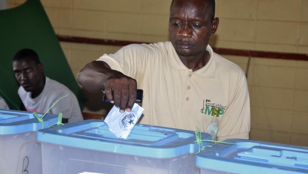 Elections en Mauritanie: peu d'affluence dans les bureaux de vote