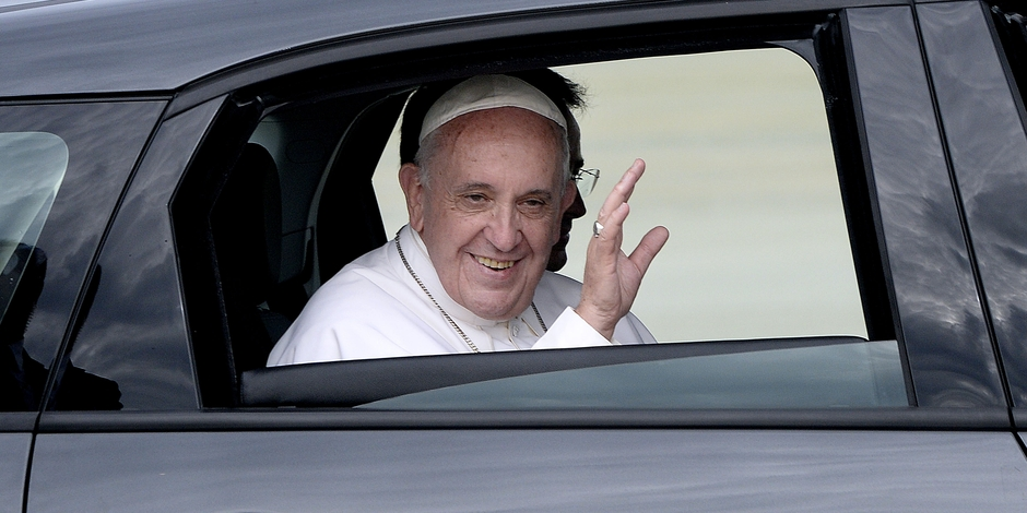 """Selon le pape François, """"le sexe est un don de Dieu"""""""