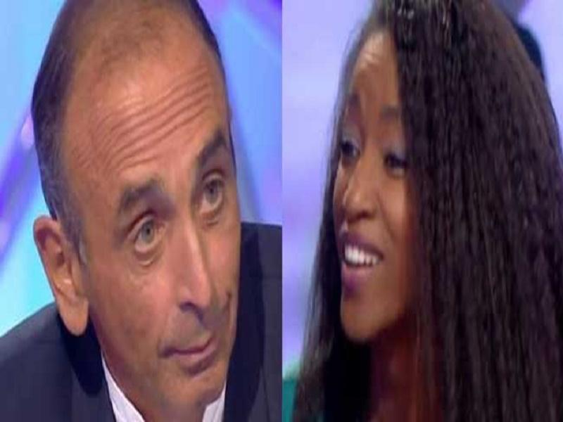 ``Votre prénom est une insulte à la France ``: la chroniqueuse Hapsatou Sy diffuse les propos d'Eric Zemmour