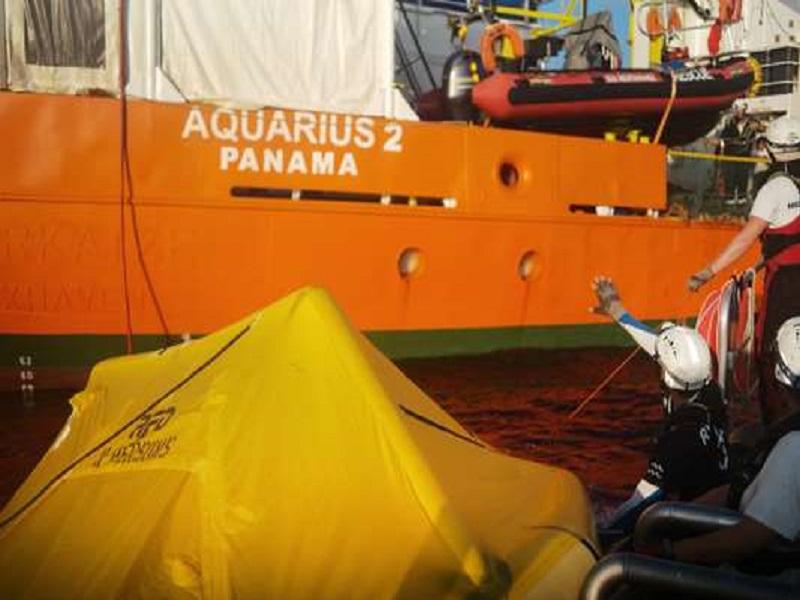 Les 58 migrants à bord de l'« Aquarius » répartis entre quatre pays, dont la France