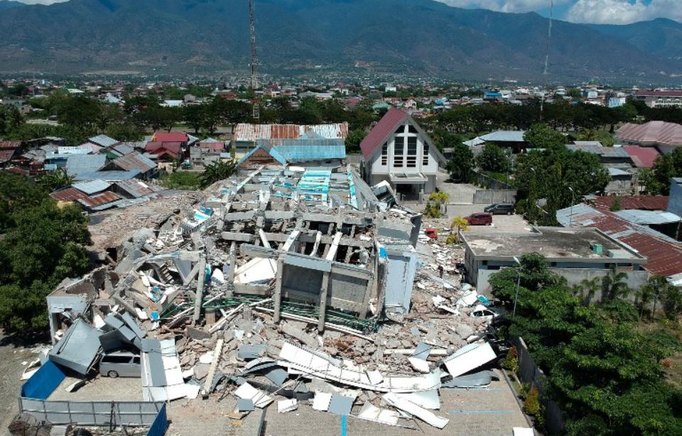 Indonésie: Le bilan des séisme et tsunami monte à 832 morts