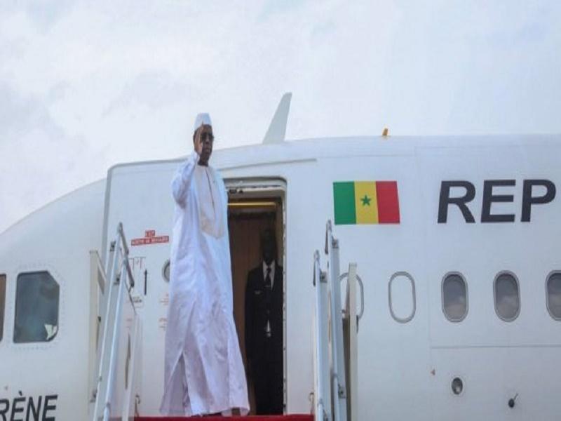 60e anniversaire de l'indépendance de la Guinée: Macky a quitté Dakar ce mardi