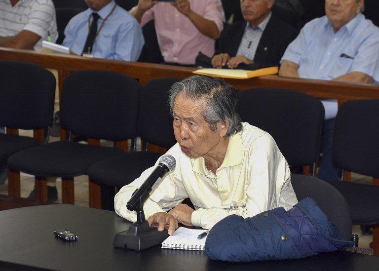 Pérou : un juge annule la grâce accordée à l'ex-président Alberto Fujimori