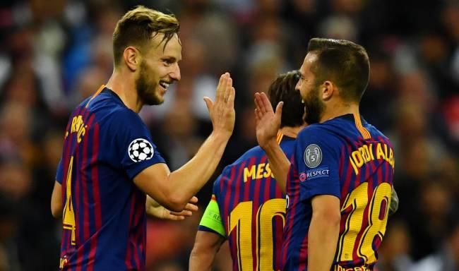 LDC-Groupe B Tottenham 1-2 Barcelone