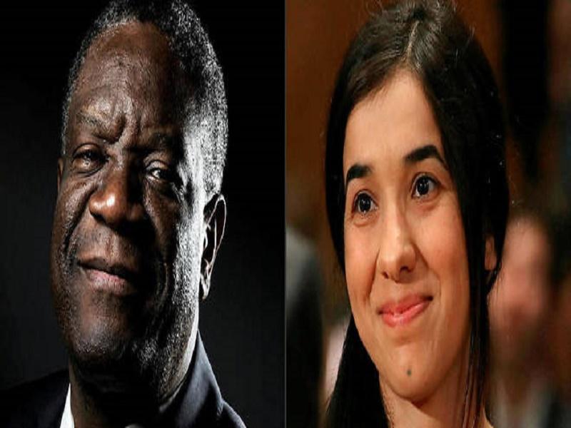 Le prix Nobel de la paix décerné au Congolais Mukwege et à la Yézidie Murad