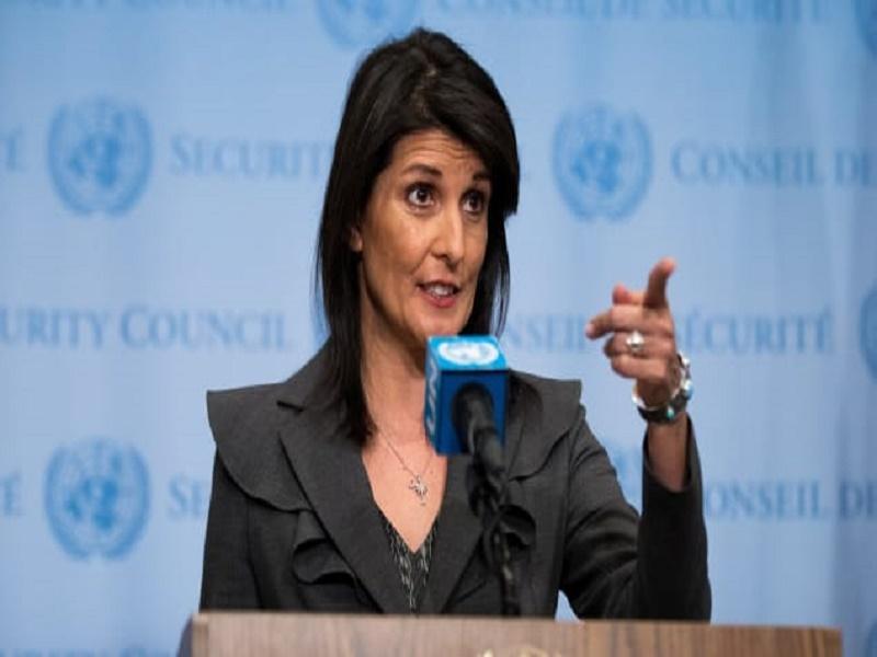L'ambassadrice des États-Unis aux Nations unies démissionne