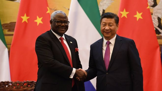 La Sierra Leone annule un projet financé par la Chine
