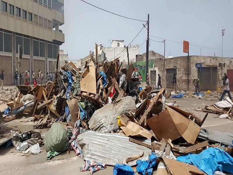 Déguerpissement : Dakar-Plateau veut refaire peau neuve sous les cris des commerçants