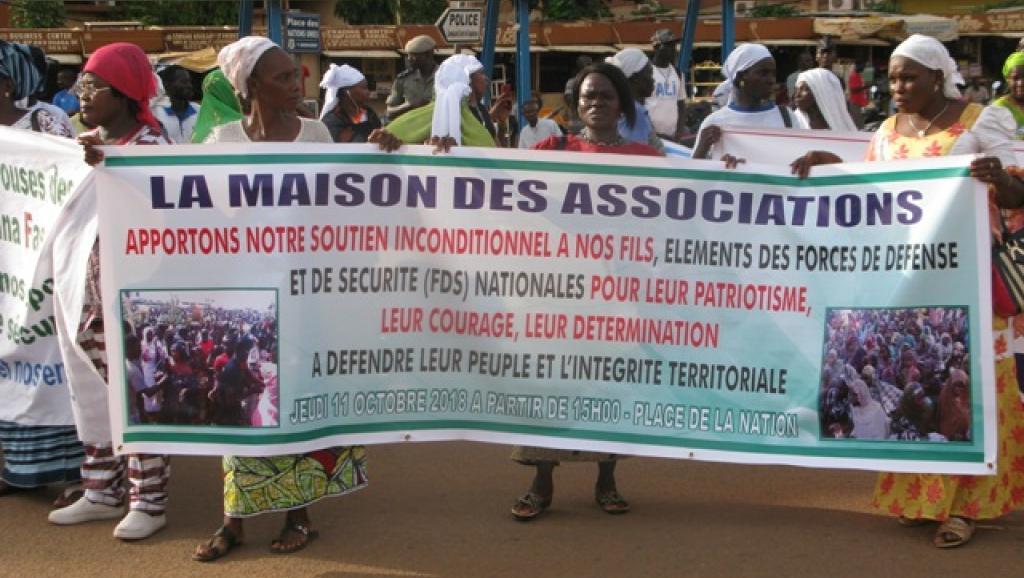 Burkina Faso: marche des femmes contre le terrorisme