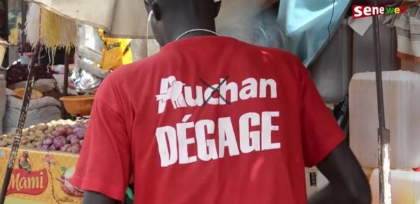 """""""Auchan Dégage"""" : les commerçants de Mbour menace Macky de vote-sanction"""