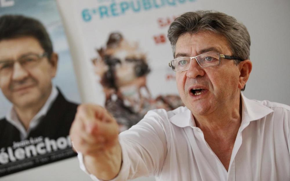 France : Perquisitions en cours chez Jean-Luc Mélachon