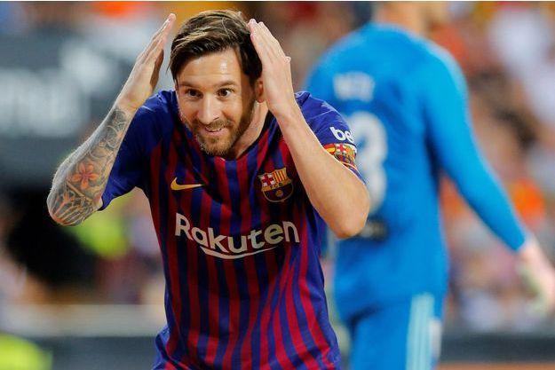 Liga : Lionel Messi élu joueur du mois de septembre