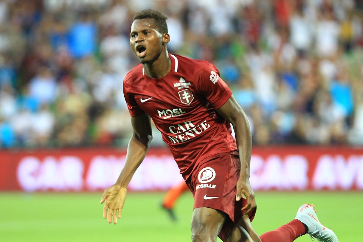France : Habib Diallo entre dans l'histoire de la Ligue 2 avec 10 buts en 10 journées