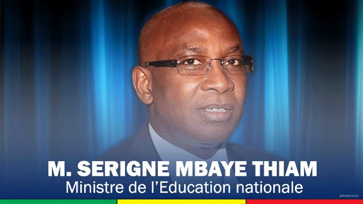 Exploitation sexuelle à l'école : Humain Rights Watch persiste et vilipende Serigne Mbaye Thiam