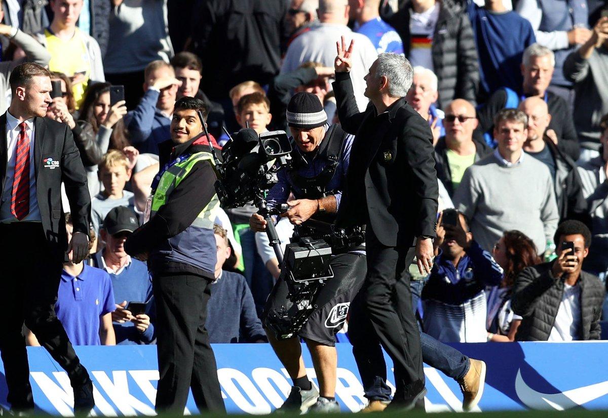 José Mourninho fait un petit rappel aux supporters de Chelsea