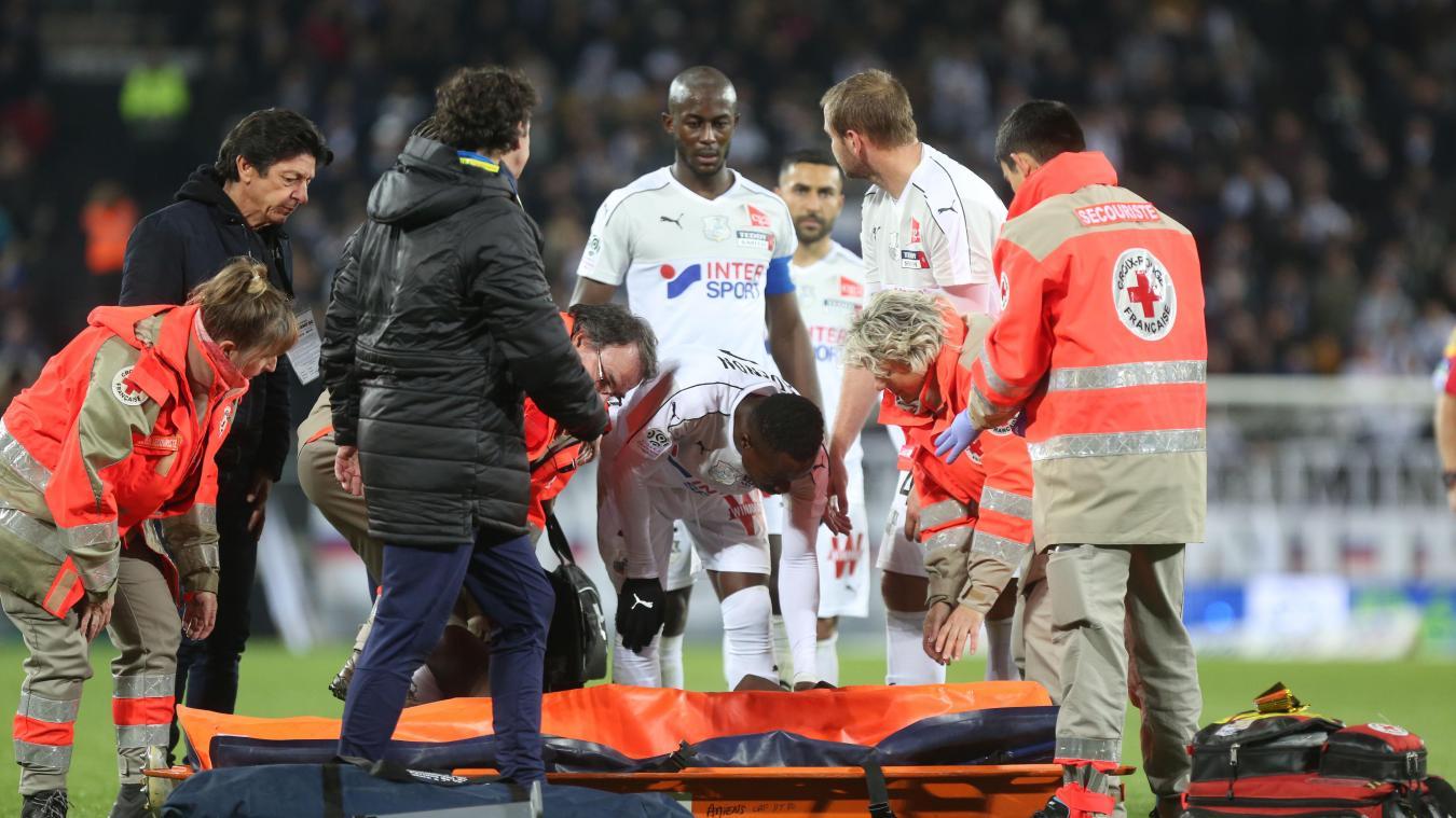 Amiens :  Année terminée pour Moussa Konaté ?