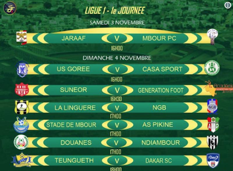 Ligue 1 Sénégalaise-Choc de la 1ère journée de ce samedi Jaraaf-Mbour PC