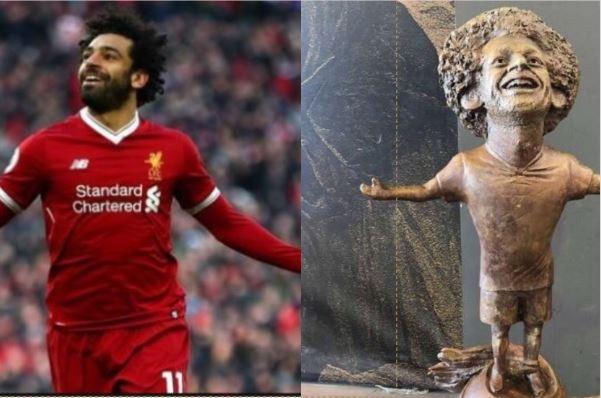 Une statue de Salah qui ressemble à un voleur fait polémique