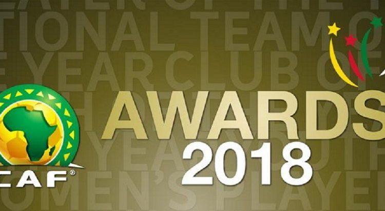 CAF Awards 2018: le gala de remise des prix aura lieu le 8 janvier 2019
