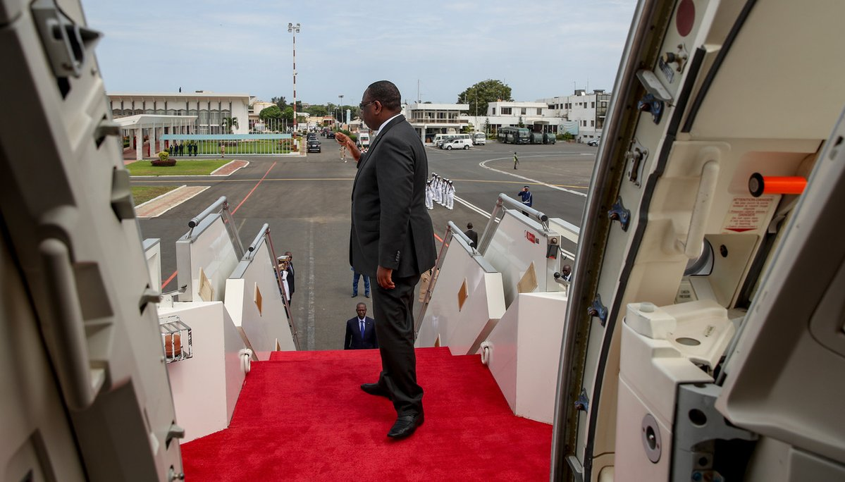Le Président Macky Sall a quitté Dakar ce mercredi pour rallier l'Afrique du Sud