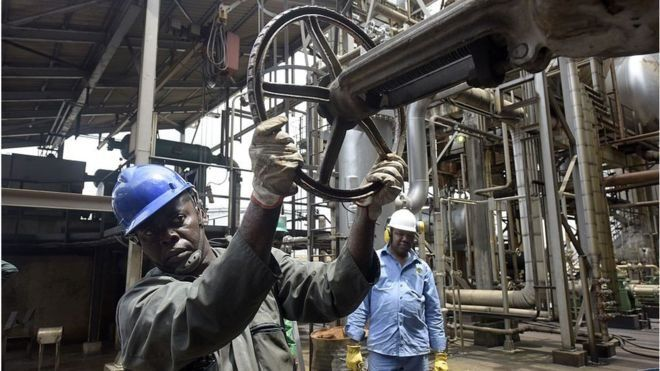 Un accord pétrolier remis en cause au Nigeria