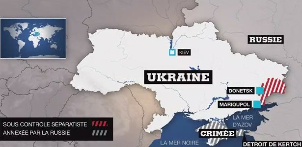 Tensions Russie-Ukraine : le Parlement ukrainien vote l'instauration de la loi martiale