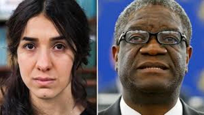 L'UE apporte son soutien à Nadia Murad et Dr Denis Mukwege, lauréats du prix Nobel de la Paix 2018