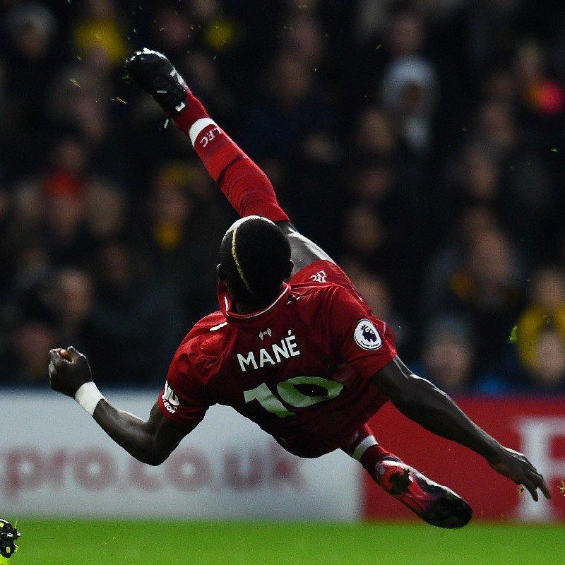 Sadio Mané est bien dans le groupe de Liverpool pour affronter le PSG