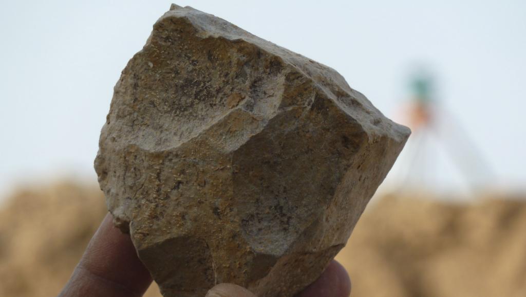 Des outils vieux de 2,4 millions d'années découverts en Algérie