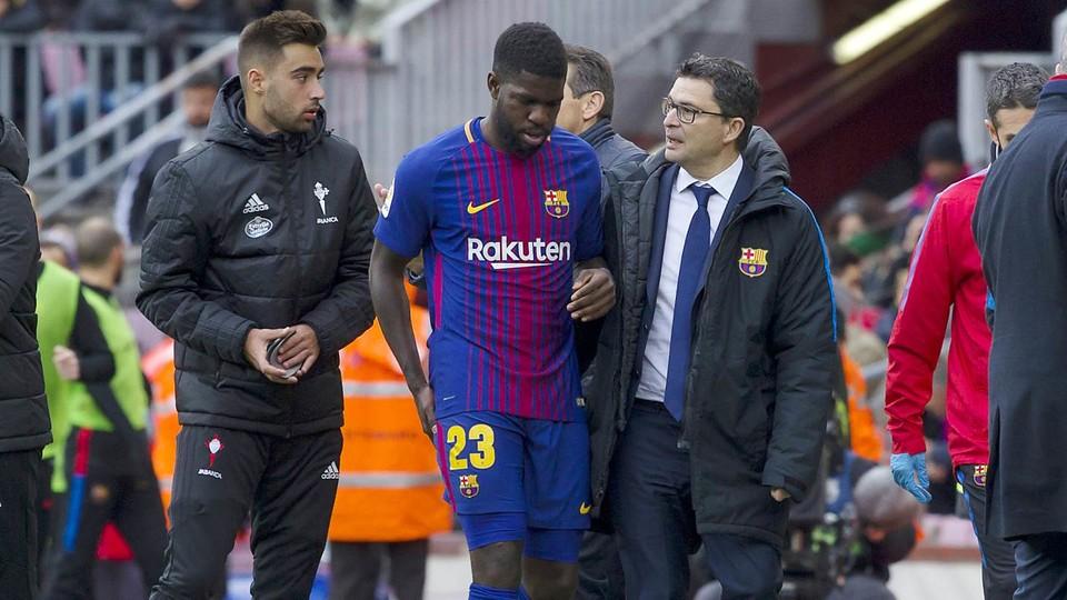 Barça : Umtiti va se soigner au Qatar