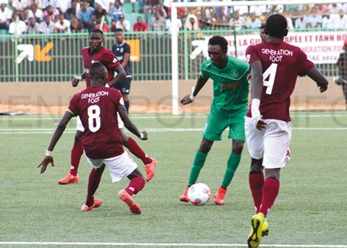 Préliminaires Coupe CAF : Génération Foot est allé éliminer Djoliba FC au Mali (0-1)