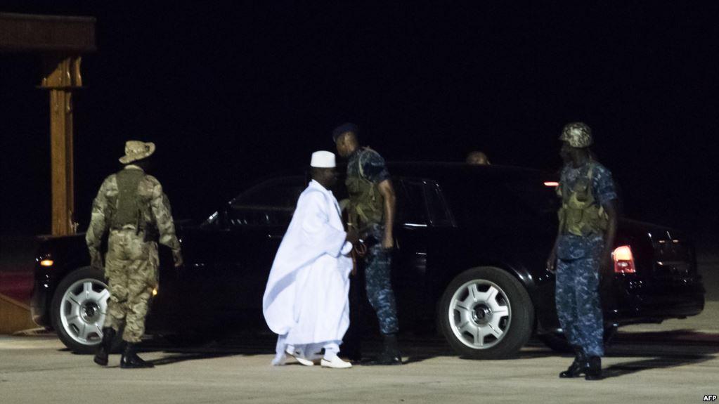 L'ex-président gambien, Jammeh interdit d'entrer aux Etats-Unis