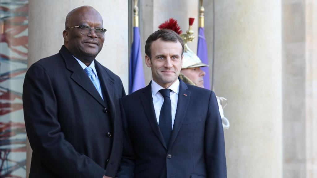 La coopération militaire contre le terrorisme au cœur de la visite de Kaboré en France