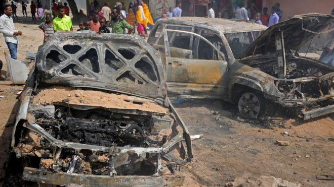 Au moins sept morts dans un double attentat en Somalie