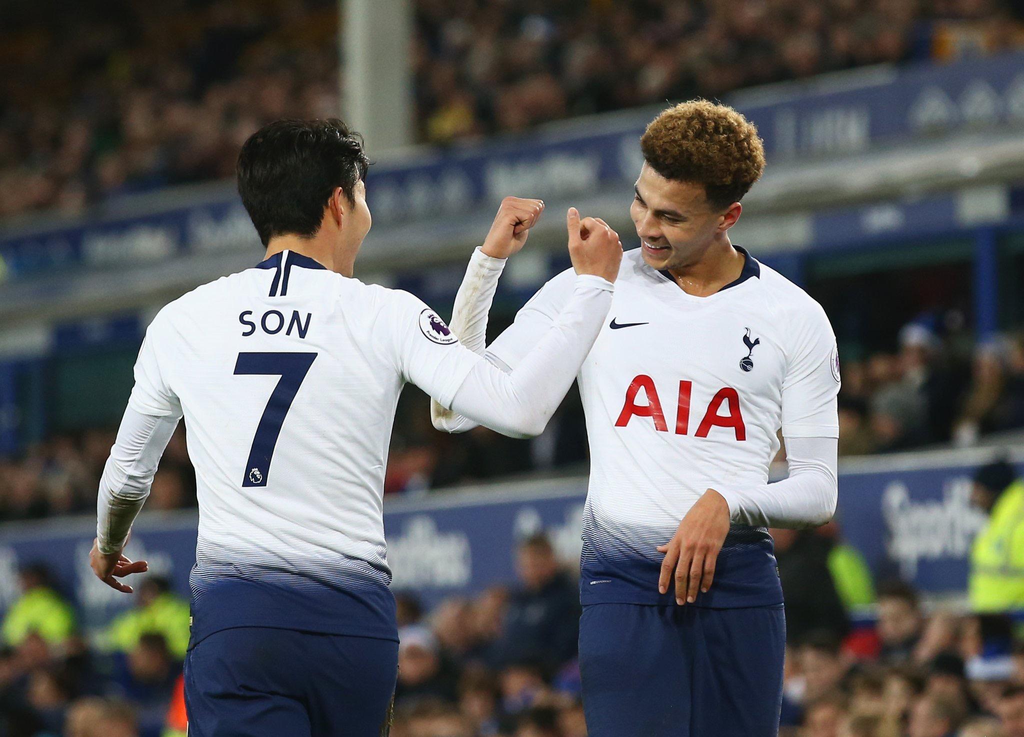 Everton laminé à domicile par Tottenham (2-6)