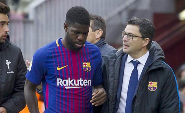 Barça : la blessure d'Umtiti plus grave que prévue