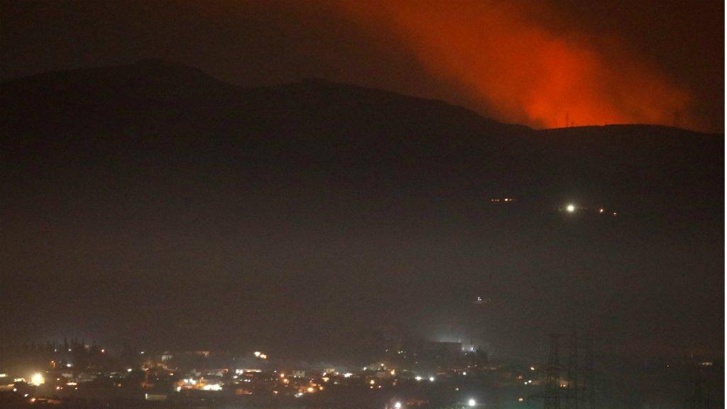 La Syrie et Israël s'accusent mutuellement de bombardements