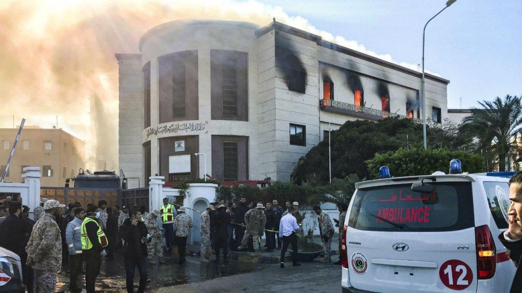 Libye: le ministère des Affaires étrangères attaqué à Tripoli