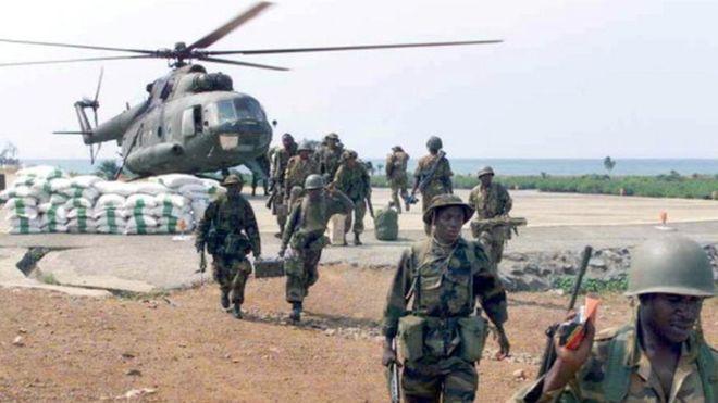 Crash d'un hélicoptère de l'armée nigériane
