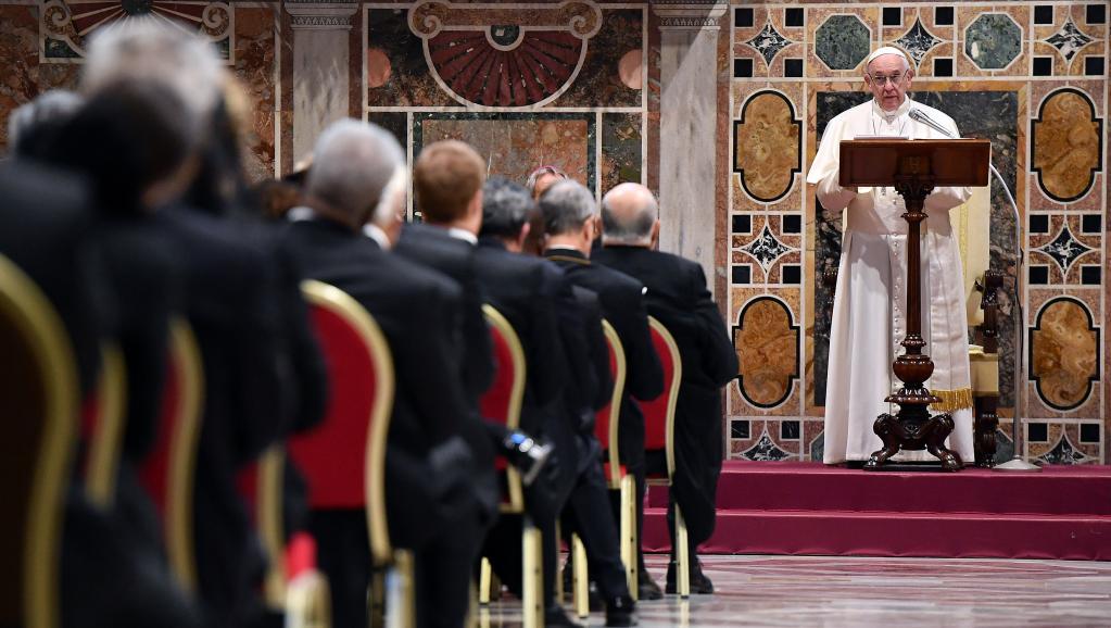 Dans ces vœux au corps diplomatique, le pape François n'oublie pas l'Afrique