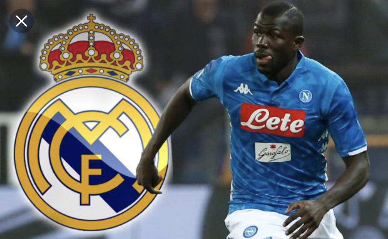 Mercato - Real Madrid fait une offre de 100 millions d'euros à Koulibaly