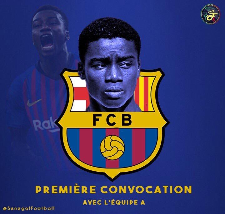 🔴Officiel ! Moussa Wagué intègre l'equipe A du Barça
