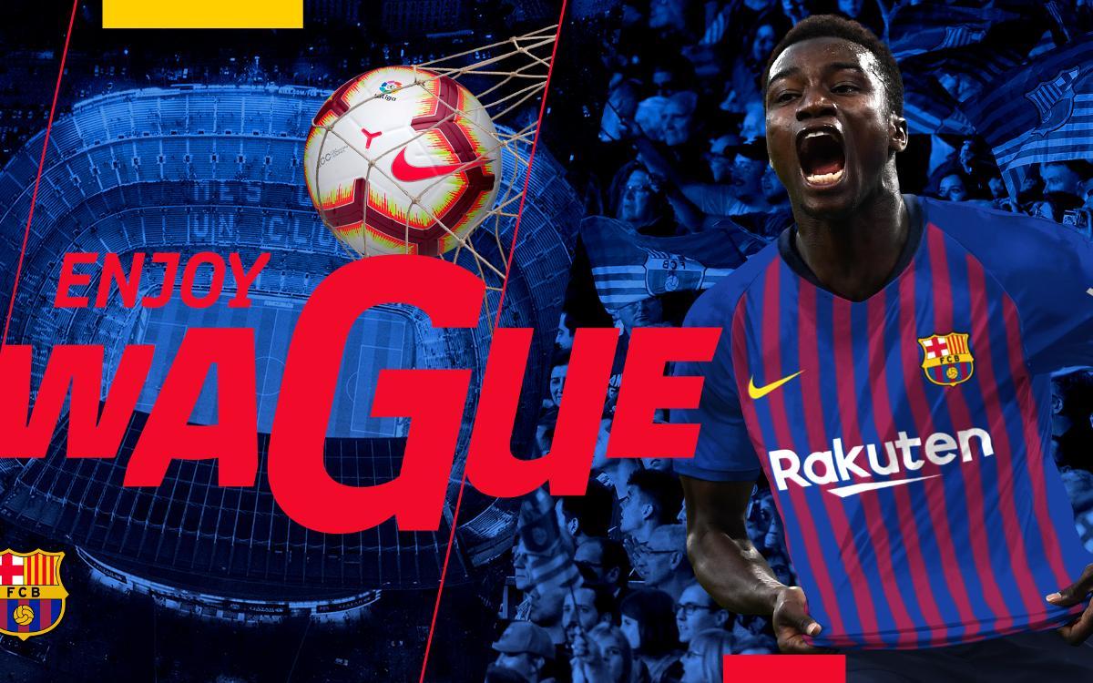 Moussa Wagué marque son 1er but avec l'équipe B du Barça