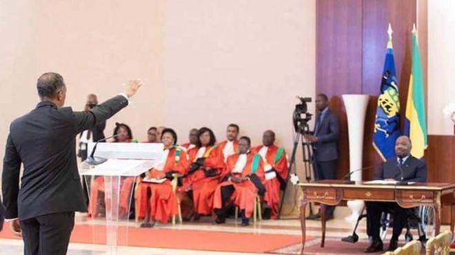 Le gouvernement gabonais prête serment devant Ali Bongo