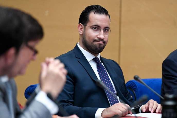 Alexandre Benalla en garde à vue dans l'enquête sur ses passeports diplomatiques
