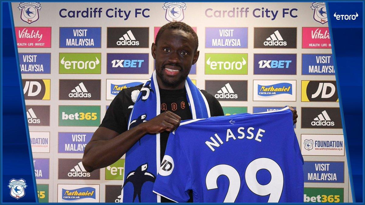 Officiel ! Baye Oumar Niasse prêté jusqu'à la fin de la saison à Cardiff City.