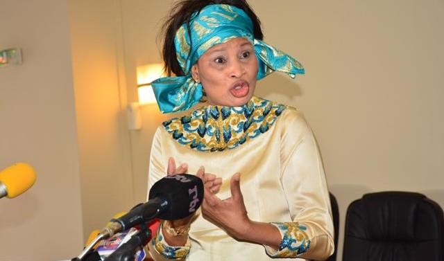 Aissata Tall Sall n'a pas «encore» rejoint Macky (Proches)