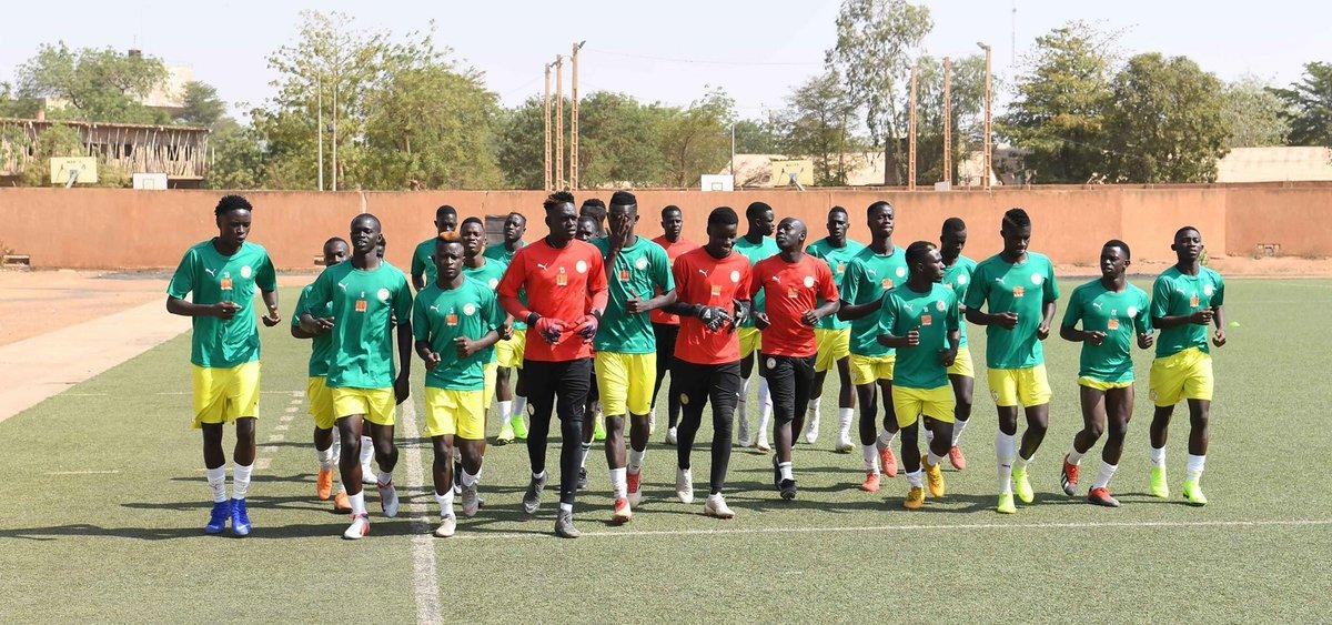 """CAN U20 2019: Les images du premier galop des """"Lionceaux"""" à Niamey"""