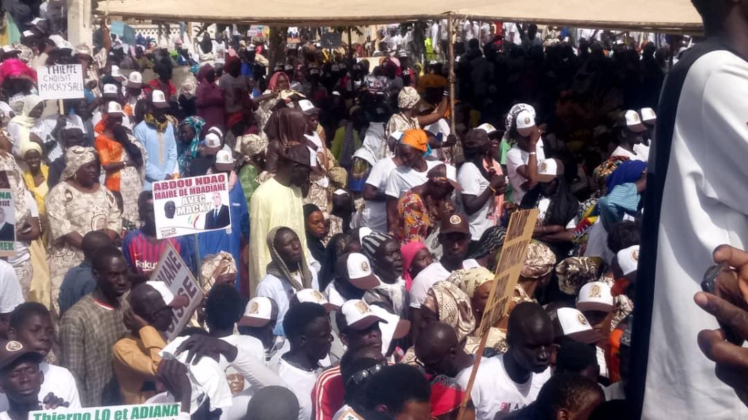 Macky Sall à Kébemer: les images du rassemblement